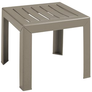 Bahia Cocktail Table, French Taupe